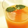ピンクグレープフルーツジュースとオリーブオイル割り